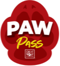 Paw Pass Badge