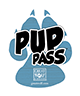 Image of the Pup Pass attraction Lanyard exclusively available from Great Wolf Lodge.