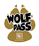 Image of the Wolf Pass attraction Lanyard exclusively available from Great Wolf Lodge.